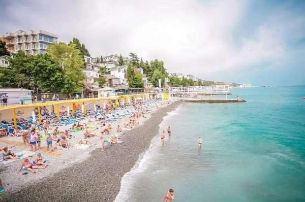 Приморский – один из лучших пляжей Ялты