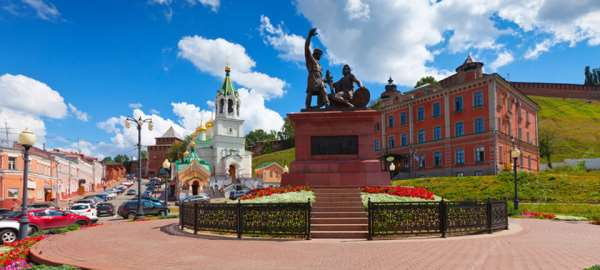 Туры выходного дня в Нижний Новгород по историческим местам