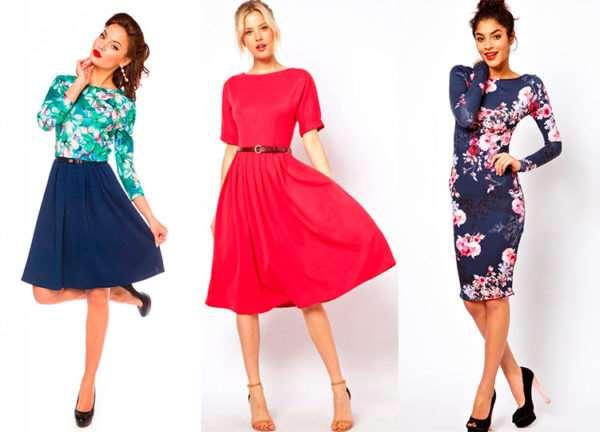 Красивые женские платья по доступным ценам
