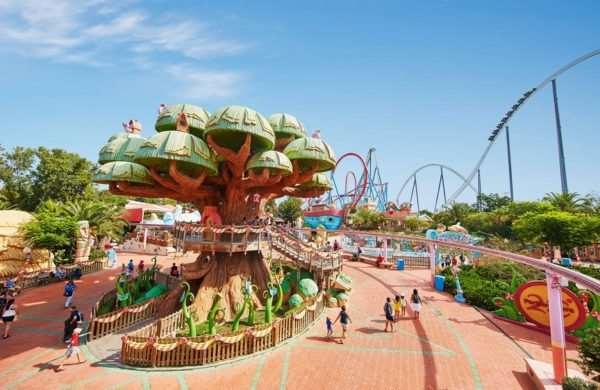 Крупнейшие парки развлечений мира