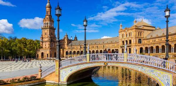 Жемчужины Испании – города Гранада и Севилья
