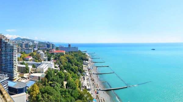 Такой незабываемый и разных отдых на черноморском побережье в Сочи