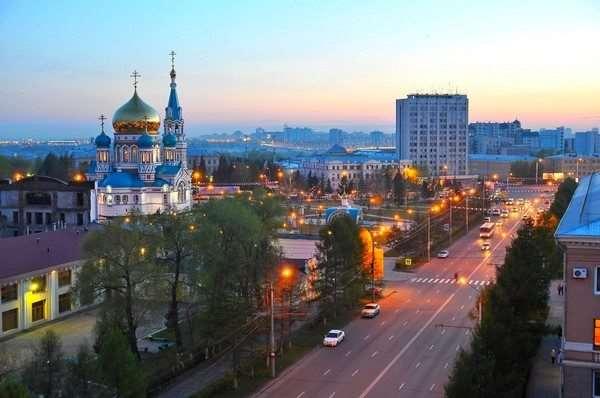 Запрещенная танцплощадка в Омске