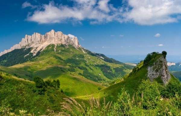 Горы Адыгеи – лучшее место для семейного отдыха