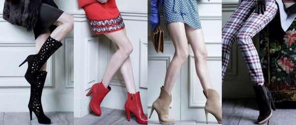 Самые модные тренды женской обуви