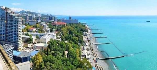 Отель на берегу Черного моря