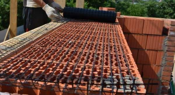 Кладочная сетка – отличный материал для армирования