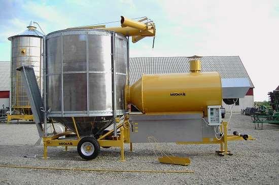 Зерносушилки для качественной работы производства