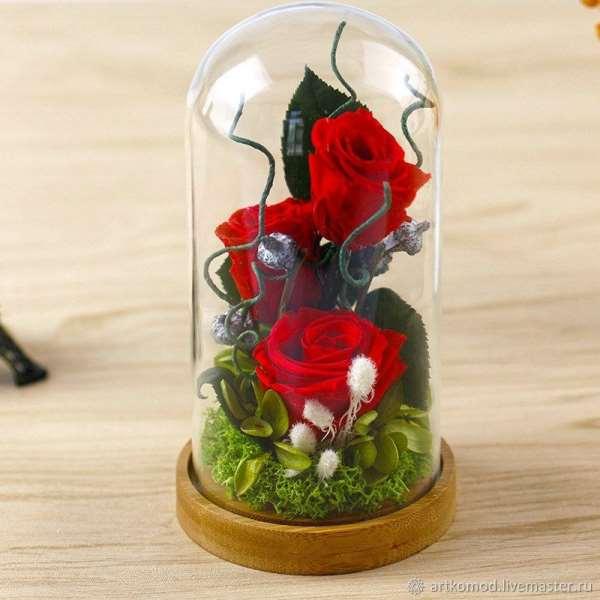 «Forever Roses»: композиция трио – идеальный подарок для любой девушки