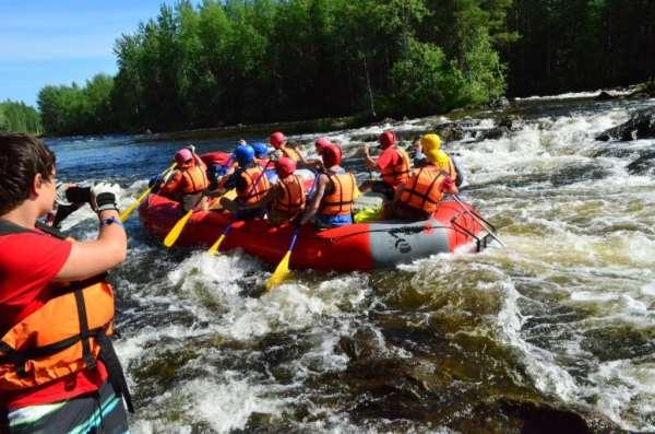Рафтинг - спуск по реке, полезный для каждого