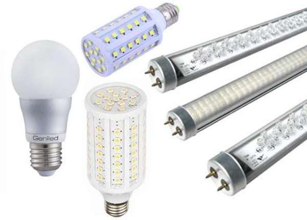 Светодиодные лампы – долговечность и минимальное энергопотребление