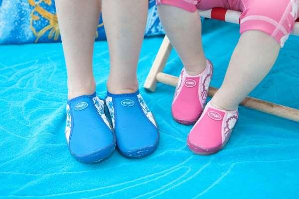Обувь для бассейна и пляжа – какие варианты существуют