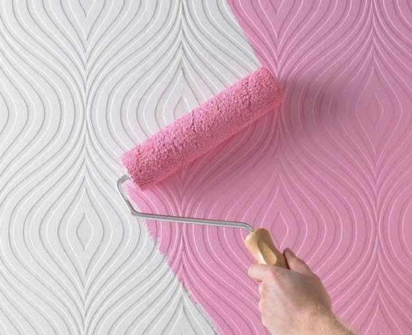 «Аттик» - структурные бумажные обои под покраску из Германии