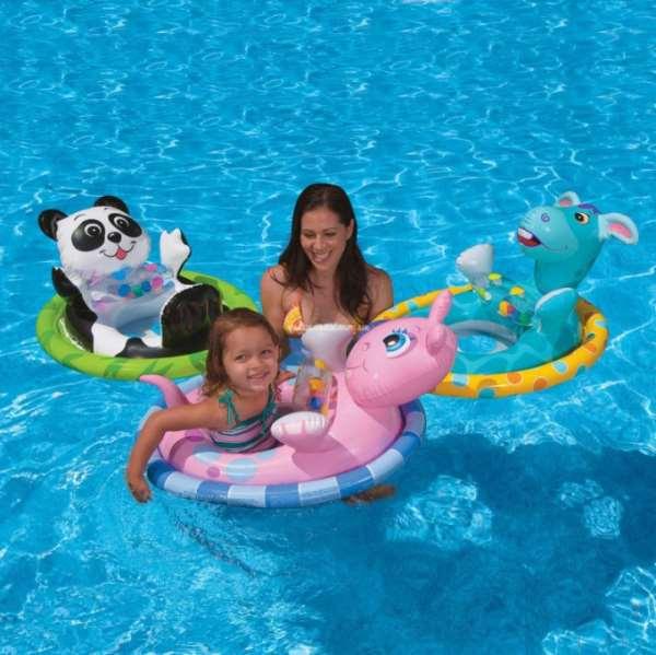 Советы по выбору детского надувного круга для плавания