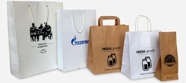 Печать на бумажных пакетах – какой вариант выбрать