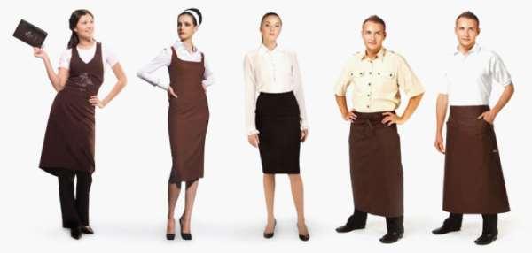 Основные параметры выбора униформы для официантов