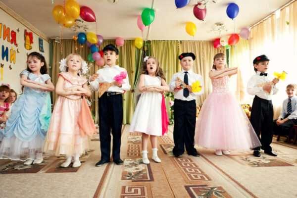 Услуги видеооператора и фотографа на выпускной утренник ребенка в детском саду