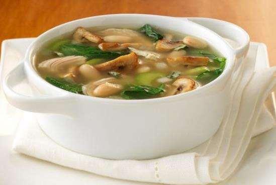 Приготовление аппетитного грибного супа