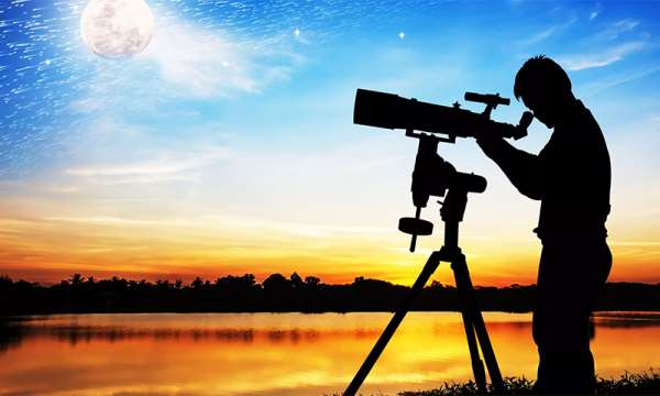 Что можно увидеть в обычный телескоп и в каком качестве?