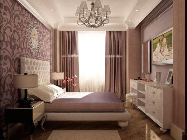 Дизайн интерьера спальни от студии Александра Шульмана