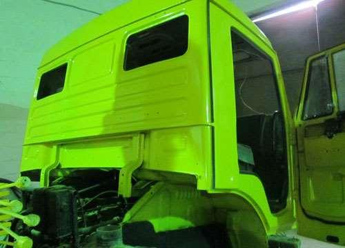 Профессиональная покраска кабин грузовика
