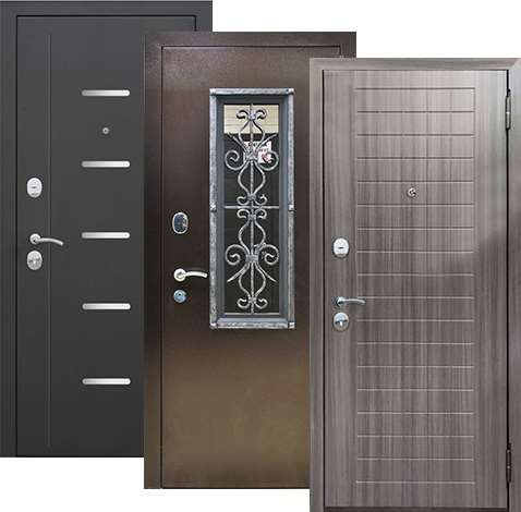 Металлические двери — максимальная безопасность жилья