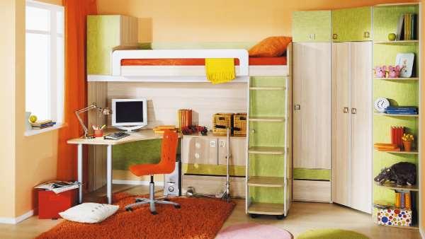 Рекомендации по выбору детской мебели для дома
