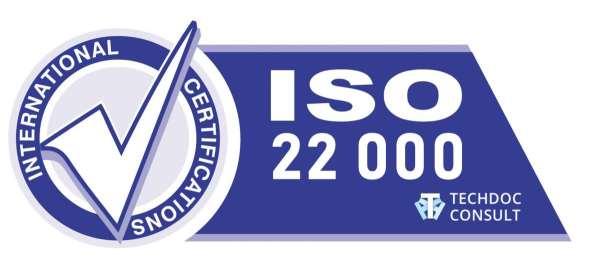 Что дает и когда нужен сертификат ISO 22000?