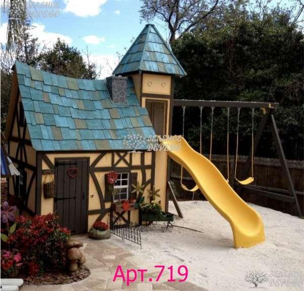 Продуманные детские игровые домики разных типов