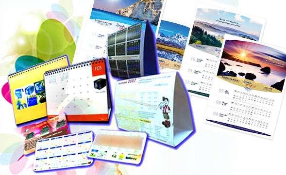 Печать календарей от типографии 2020