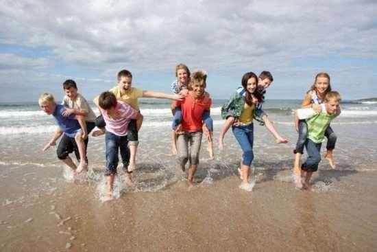 Детский лагерь в Одессе на берегу Черного моря