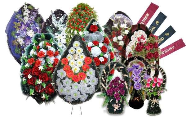 Ритуальные венки и корзины на могилу за низкую стоимость