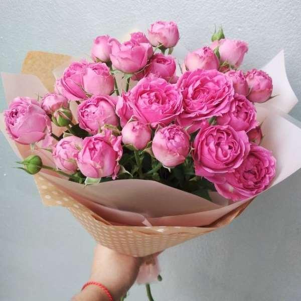 Подарок в виде букета цветов с доставкой на дом