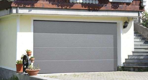 Секционные гаражные ворота — безопасность и удобство