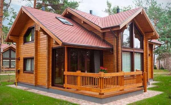Надежные и эстетичные дома из профилированного бруса