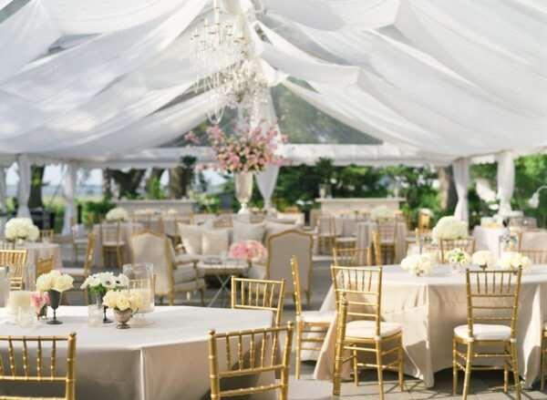 Оформление свадеб в европейском стиле в Москве