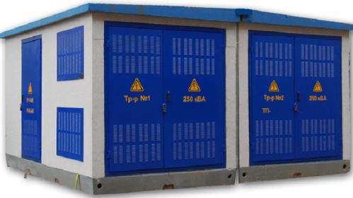 Комплектация современных трансформаторных подстанций