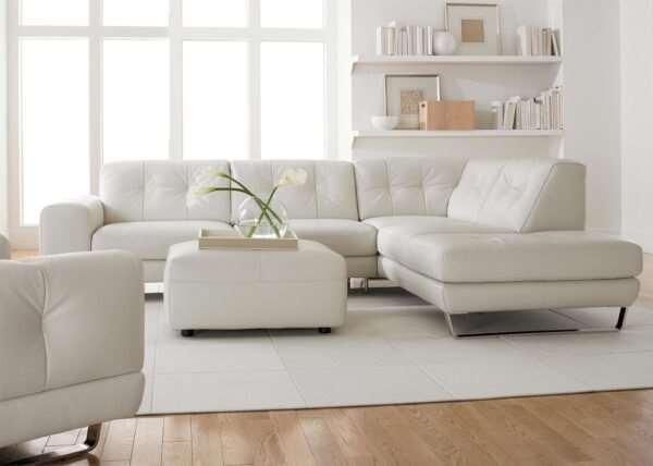Кожаные диваны — изыск, устойчивость и стиль