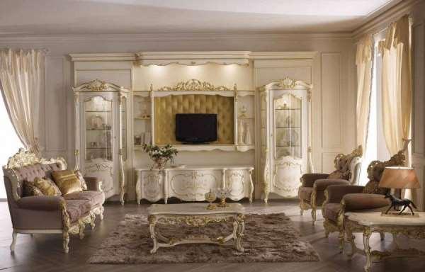 Итальянская мебель для гостиной — надежность и разносторонность