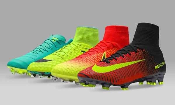 Высококачественные футбольные бутсы бренда Nike