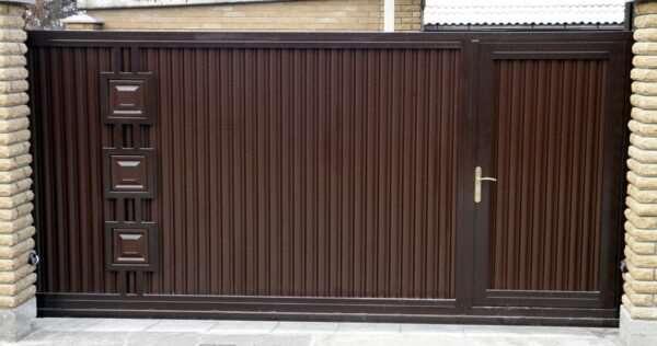 Воротные системы для максимального комфорта в загородном доме