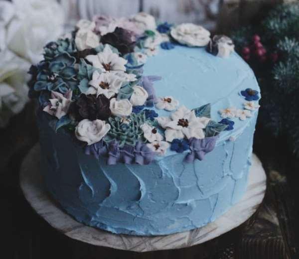 Вкусные, красивые и полезные торты на заказ