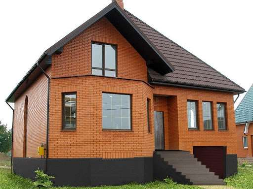 Частный дом из кирпича — симбиоз прочности и надежности