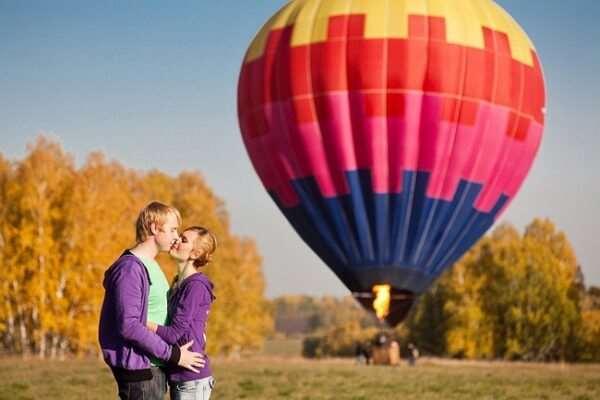 Полет на воздушном шаре: незабываемое приключение