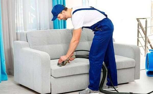 Этапы профессиональной химчистки мягкой мебели