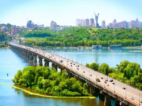 Популярные туристические места на Украине