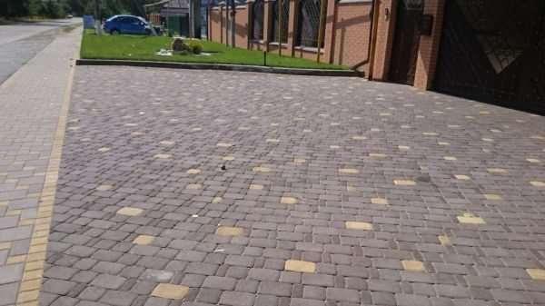 Тротуарная плитка — универсальность применения на практике