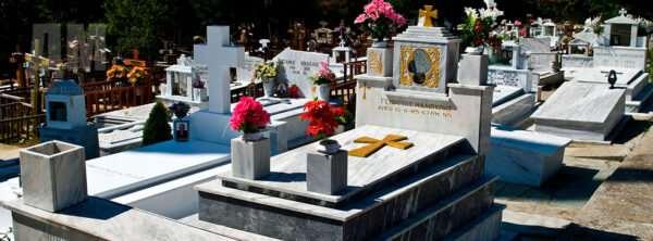 Надгробные памятники: на какие виды делятся?