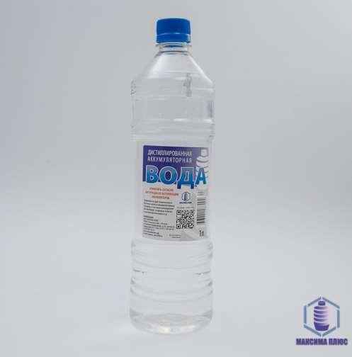 Дистиллированная вода в разных видах тары