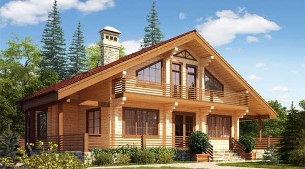 Проекты домов из бруса от профильной компании
